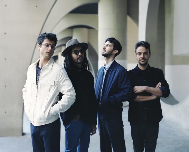 Adrien Gallo, Karim Réveillé, Félix Hemmen et Bérald Crambes (de gauche à droite) reviennent avec un quatrième album intitulé «Puzzle».