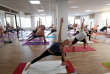 People attend a yoga class at a Bikram yoga centre in Budapest, Hungary, September 22, 2017. REUTERS/Laszlo Balogh