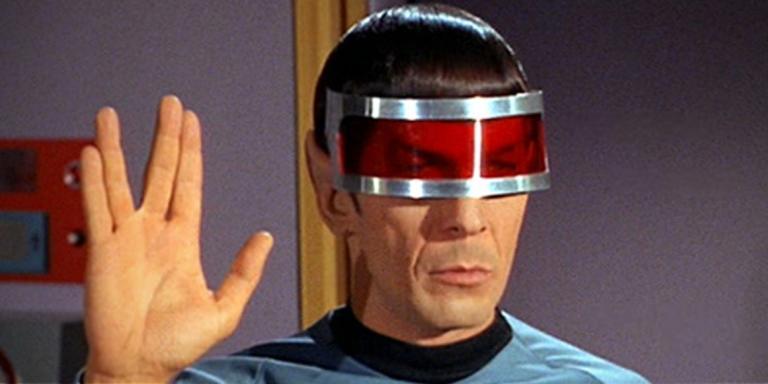 Le Capitaine Spock de« Star Trek».