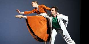 Laëtitia Pujol et Manuel Legris dans le pas de deux de «Sylvia», de John Neumeier en 2008.