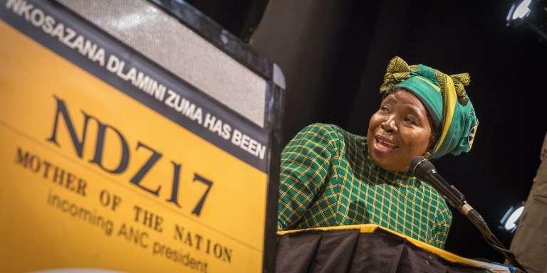 Nkosazana Dlamini-Zuma à Durban le 3 septembre 2017.