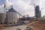 Assemblage de la ligne de production de l'usine Lafarge de Jalabiya après son acquisition par le cimentier en 2007.
