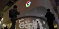 Le stand Google au Congrès mondial du mobile, le 28 février 2017, à Barcelone.