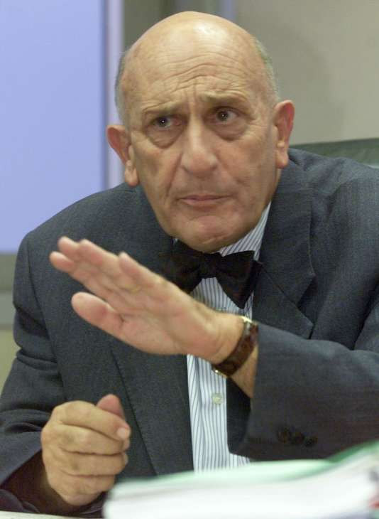 Le président du groupe «Les Dernières Nouvelles d'Alsace», en 1999.