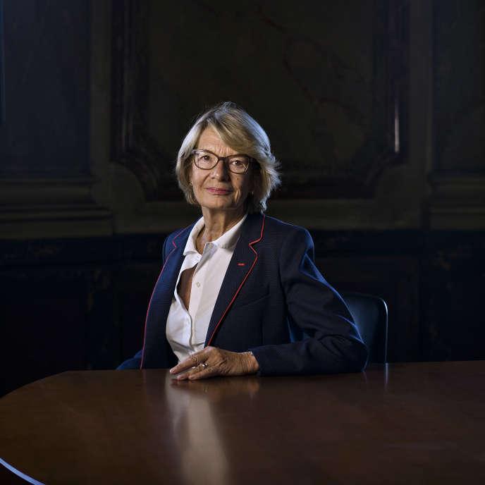 Elisabeth Morin-Chartier, à Paris le 21 septembre.