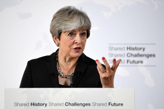 Discours de Theresa May, à Florence, le 22 septembre.
