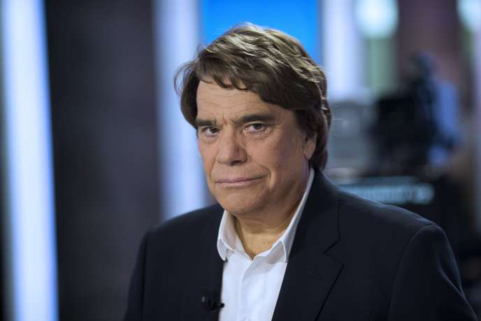 Bernard Tapie, in Paris, on July 1st, 2013.