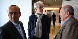 """Conférence """"Ville durable, ville vivable ?"""" avec le directeur délégué d'Enedis Nicolas Machtou, le géographe Michel Lussault et le conseiller de Paris et adjoint à la Maire de Paris Jean-Louis Missika."""