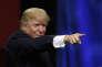 Donald Trump, le 22 septembre à Huntsville.
