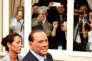Silvio Berlusconi, fondateur de la holding Fininvest, maison mère de Mediaset, et leader de Forza Italia, le 17 septembre à Fiuggi (Italie).