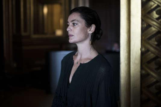 Aurélie Dupont au Palais Garnier à Paris, lors de la quatrième édition du Monde Festival, le 23septembre 2017.