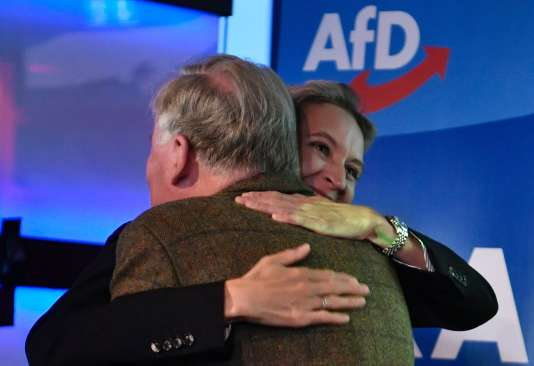 Alexander Gauland et Alice Weidel, le 24 septembre