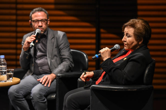 Conversation avec Shirin Ebadi animé par Christophe Ayad