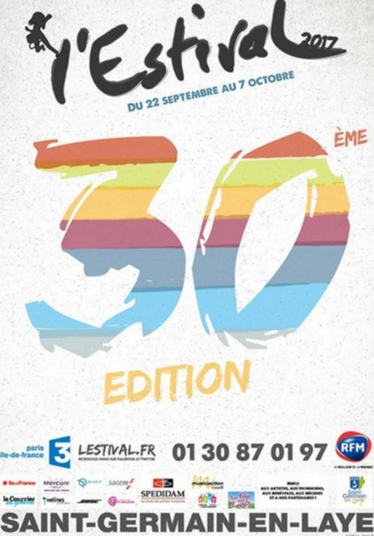 Affiche de la 30e édition de L'Estival.