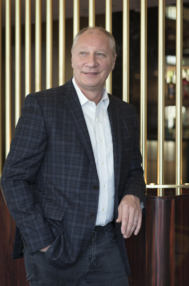 Eric Frechon, le chef du Drugstore sur les Champs-Elysées.