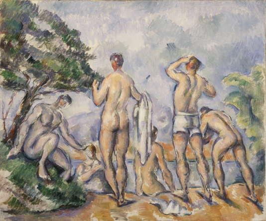 Paul Cézanne. Baigneurs, vers 1890-1892. Don de Madame Etta E. Steinberg en 1955.