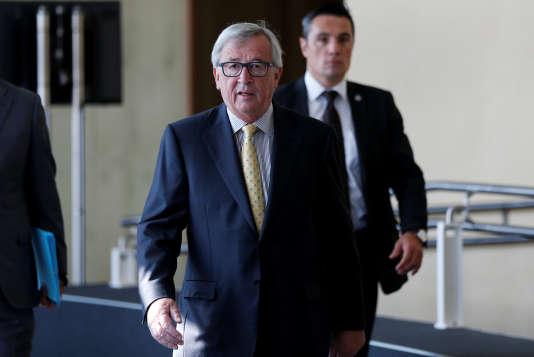 Le président de la Commission européenne, Jean-Claude Juncker, le 25 septembre à Bruxelles.