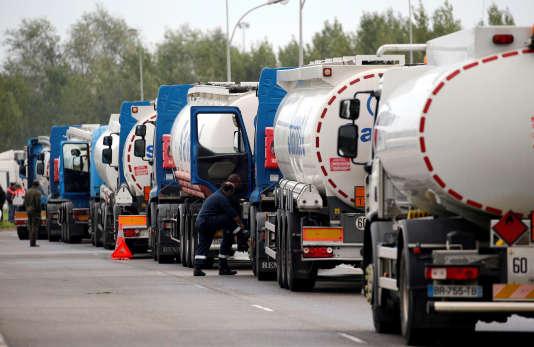 Jeudi matin, les fédérations de routiers CGT et FO avaient organisé quelques barrages filtrants et opérations-escargot.