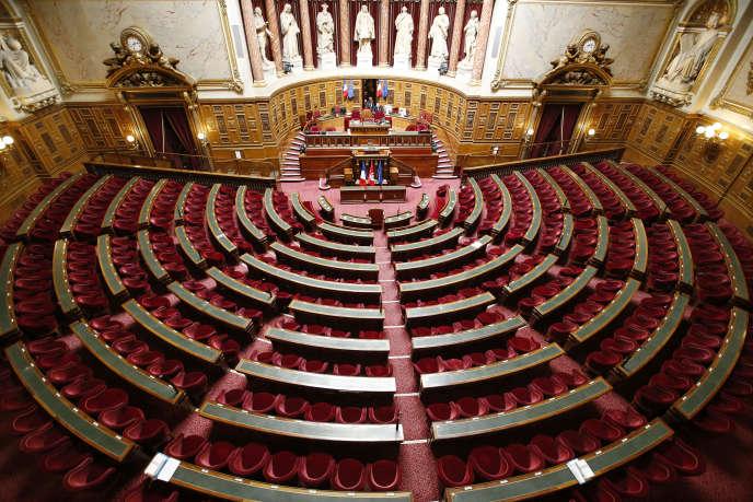 Le Sénat, Paris, en avril 2015.