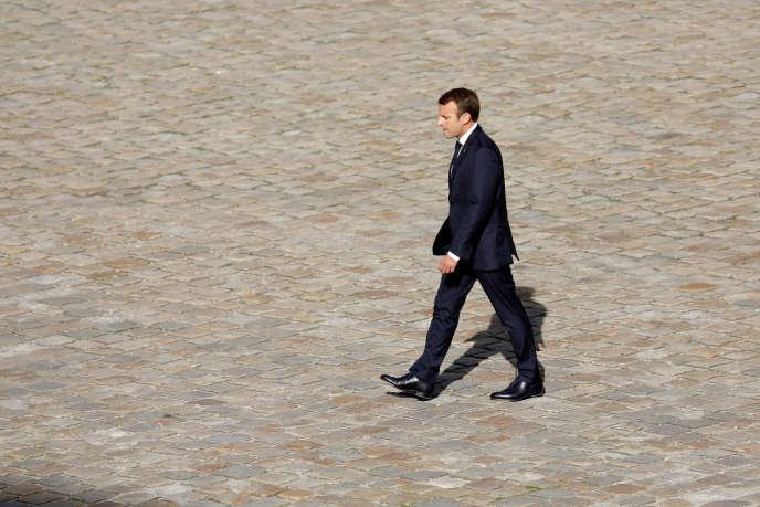 Emmanuel Macron, le 22 septembre à Paris.