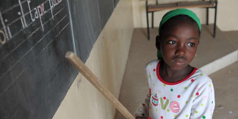 Dans une classe de Kaolack, au Sénégal en 2013.