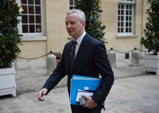 Le ministre de l'économie, Bruno Le Maire, le 25 septembre, à Paris.