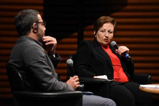 Conversation avec Shirin Ebadi animée par Christophe Ayad, dans le cadre du Monde Festival