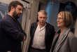 Débat avec Françoise Nyssen, Vincent Carry et Philippe Torreton aux Bouffes du Nord pour le Monde Festival,le 24 septembre 2017.