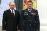 Vladimir Poutine et Valeri Assapov, à Moscou, en 2013.
