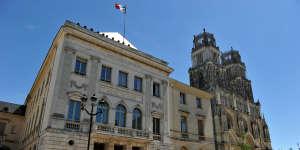 La mairie d'Orléans, le 28 juin 2015.