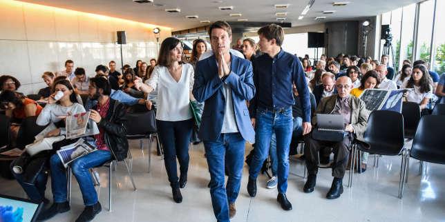 """Un débat sur le thème """"Start-up, miracle ou mirage ?"""" avec Francois Bracq, Paulin Dementhon, Nicolas Colin, Julia Bijaoui, au Monde Festival samedi 23 septembre."""