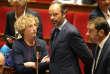 La ministre du travail, Muriel Penicaud et le premier ministre, Edouard Philippe, à l'Assemblée nationale, le 26 septembre.