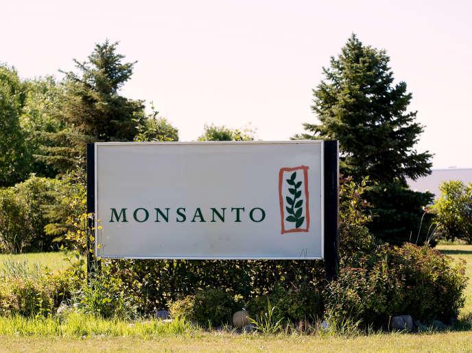 Une ferme de recherche Monsanto, près de Carman (Canada), le 3 août.