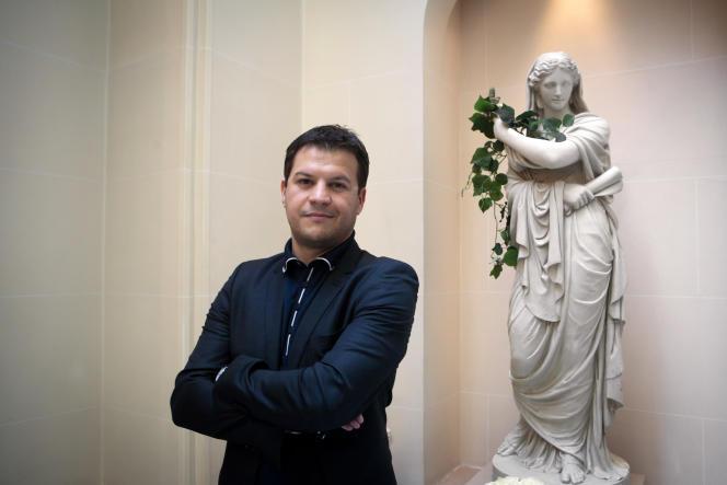 Guillaume Musso, le 8 mars 2011 à Paris.