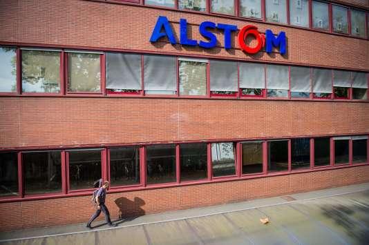 L'usine Alstom de Belfort, le 12septembre 2016.