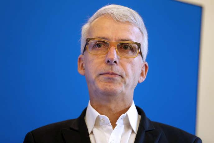 Michel Lussault, président du Conseil supérieur des programmes (CSP), le 18 septembre, à Paris.