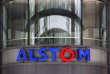 "FILE - This Wednesday, April 30, 2014, file photo shows the company logo of Alstom at their headquarters in Levallois-Perret, outside Paris, France. German industrial equipment maker Siemens AG said Tuesday Sept. 26, 2107, it has signed a memorandum of understanding to merge its train-building business with French rival Alstom, creating a ""new European champion"" in the face of growing competition from China.(AP Photo/Christophe Ena, FILE)"