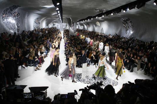 Défilé Dior printemps-été 2018, à Paris, le 26 septembre.