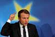 Emmanuel Macron à la Sorbonne à Paris, le 26 septembre.