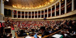 L'hémicycle de l'Assemblée nationale à Paris, le 26 septembre 2017.