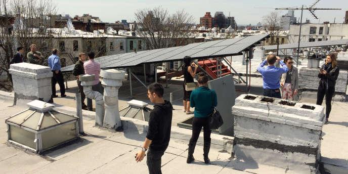 Des habitants de Brooklyn ont créé leur micro-réseau d'énergie verte, avec la «blockchain».