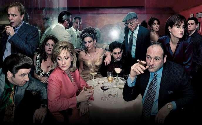 Une image de la série «The Sopranos», de la chaîne HBO.