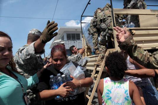 San Juan, Porto Rico, le 24 septembre.