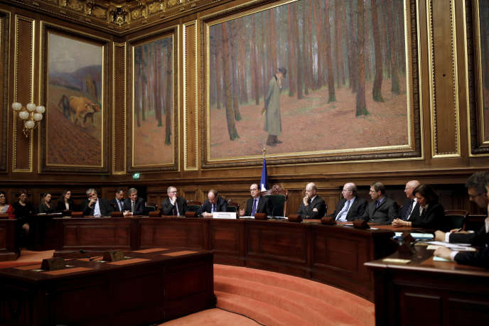 Le Conseil d'Etat, à Paris, en mars.