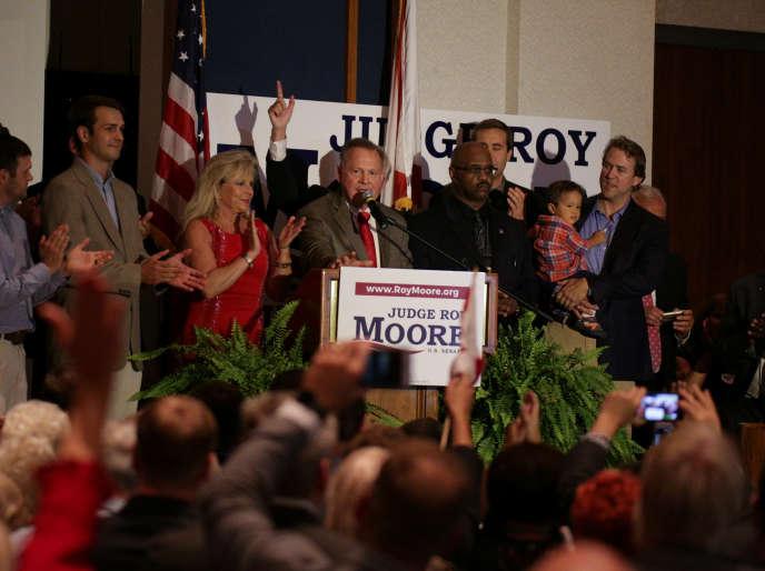 Roy Moore le 26 septembre à Montgomery en Alabama.