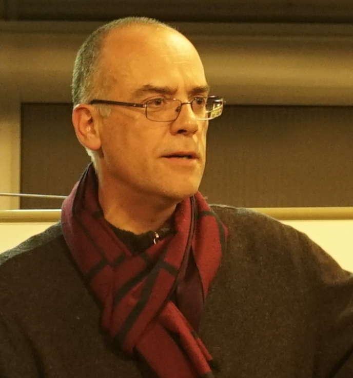L'historienFrançois-Xavier Fauvelle.