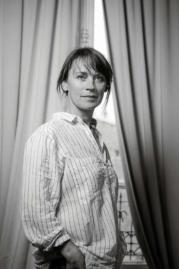 Amandine Geers co-auteur avecOlivier Degorce de « Recettes saines et gourmandes pour enfants récalcitrants».