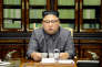 FILE PHOTO: North Korea's leader Kim Jong Un makes a statement regarding U.S. President Donald Trump's speech at the U.N. general assembly, in this undated photo released by North Korea's Korean Central News Agency (KCNA) in Pyongyang September 22, 2017. KCNA via REUTERS/File Photo ATTENTION EDITORS - THIS PICTURE WAS PROVIDED BY A THIRD PARTY. REUTERS IS UNABLE TO INDEPENDENTLY VERIFY THIS IMAGE. NO THIRD PARTY SALES. SOUTH KOREA OUT
