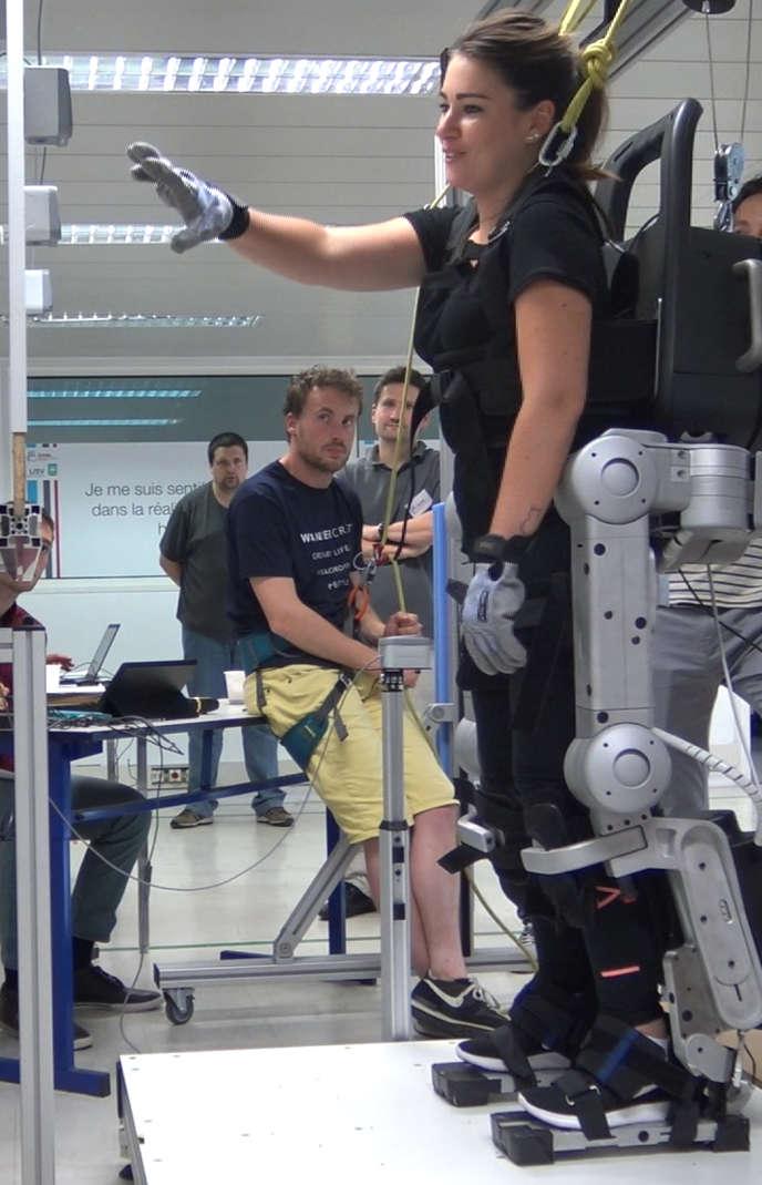 Wandercraft perfectionne son exosquelette Atalante en temps réel, en fonction du retour des patients et des médecins.