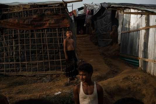 Camp d'exilés rohingya de Kutupalong.